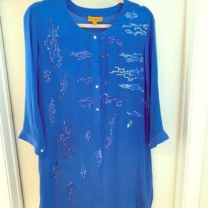 Roberta Freymann silk tunic